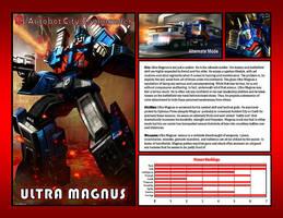 Ultra Magnus by CitizenPayne