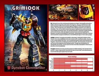 Grimlock by CitizenPayne