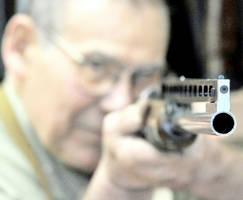 Gun Old Man by TastesLikChicken