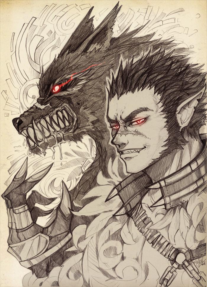 Werewolf by Enijoi