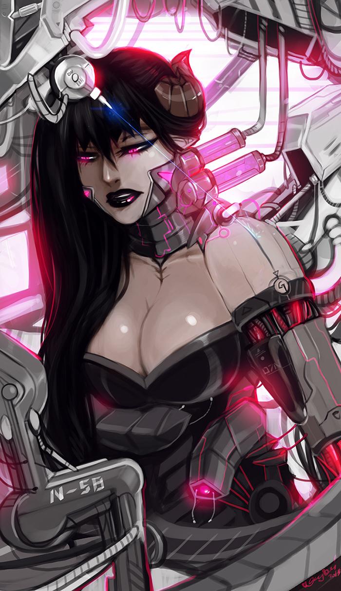 Cyborg Morana by Enijoi