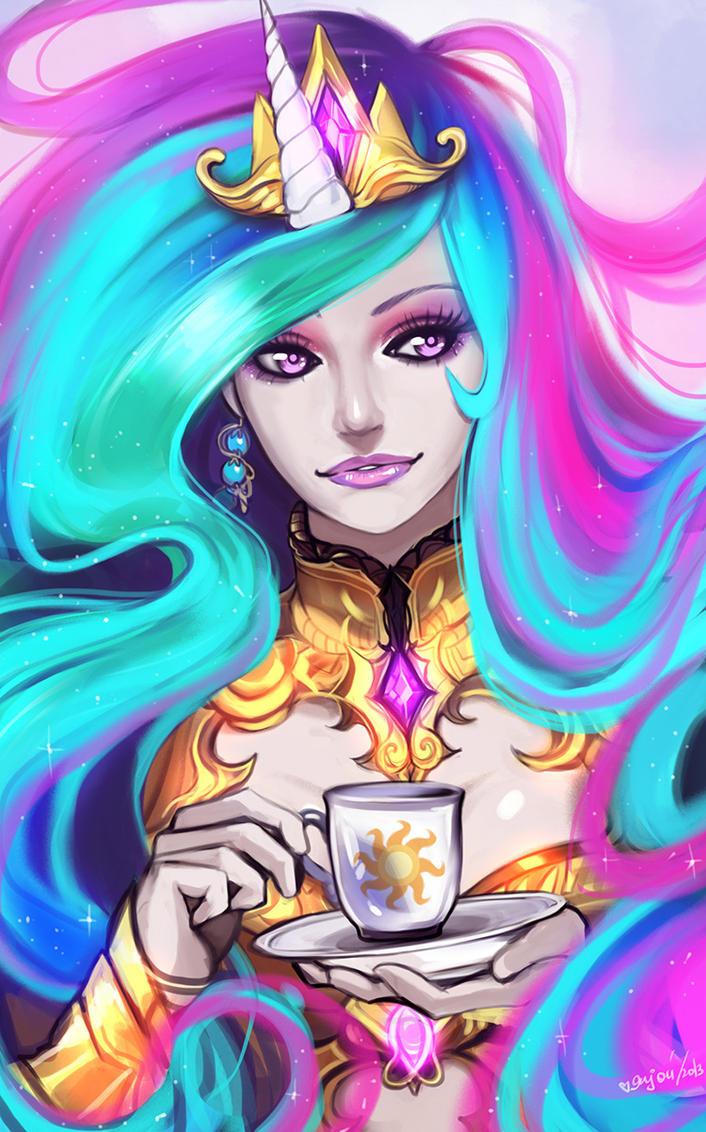 Princess Celestia by Enijoi