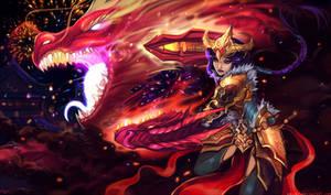 Lol - Festival dragon Shyvana