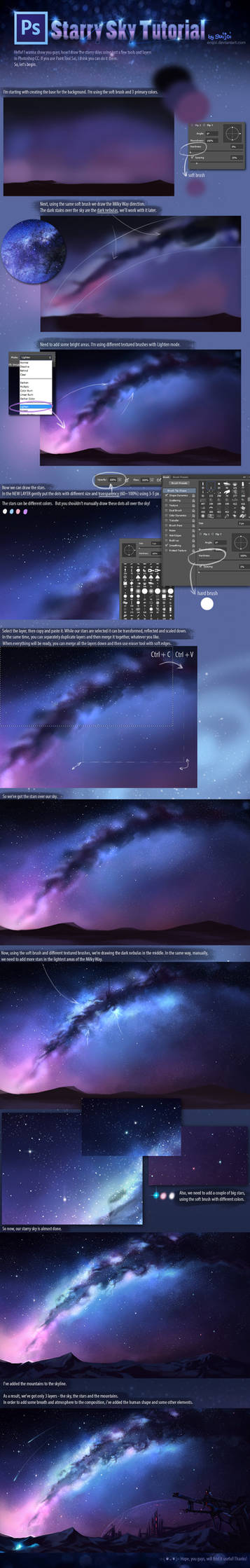+Starry Sky Tutorial+