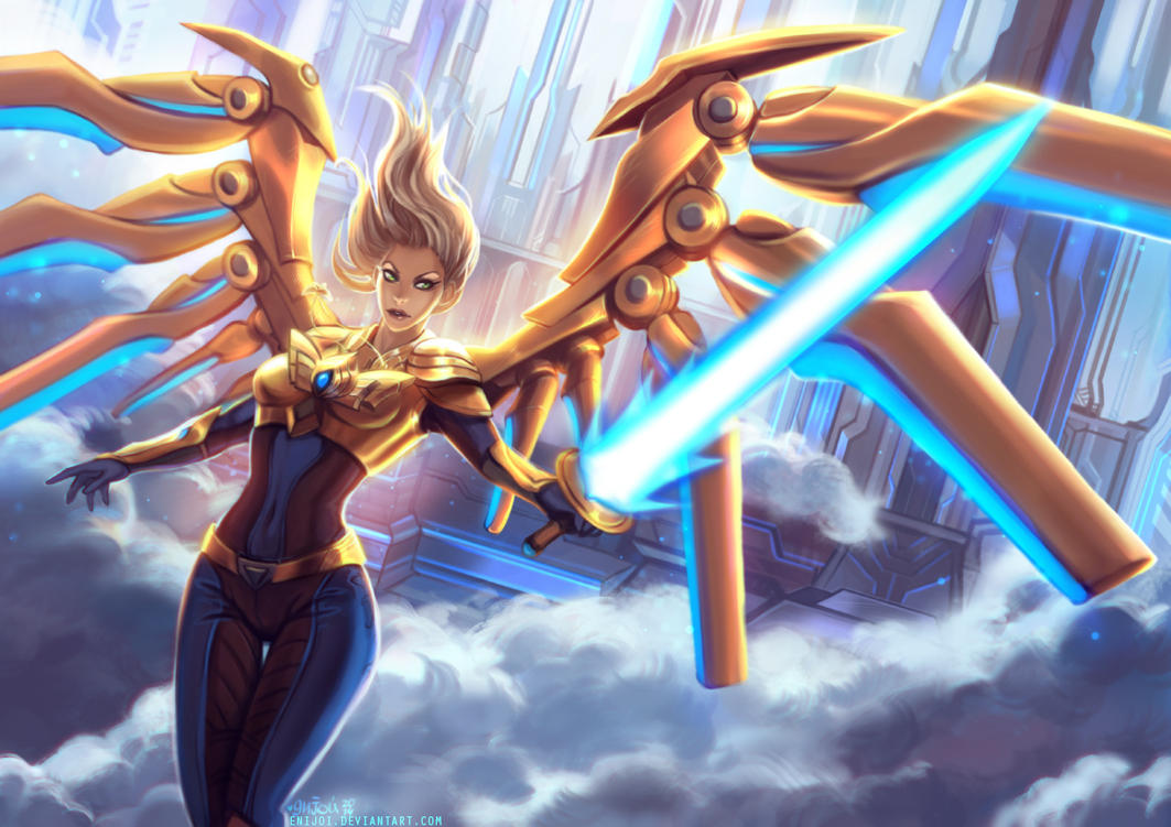 Aether Wing Kayle by Enijoi on DeviantArt