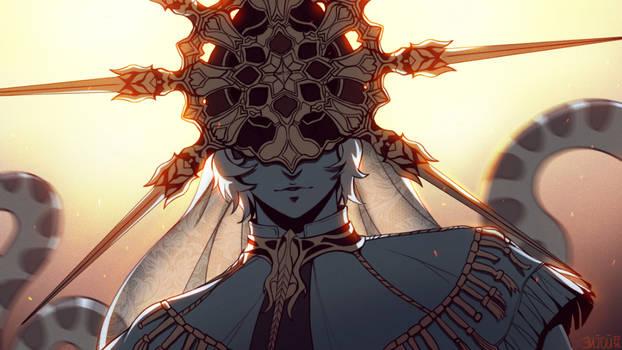 DS - Dark Sun Gwyndolin by Enijoi