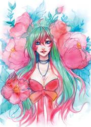 Postcard - Flowers