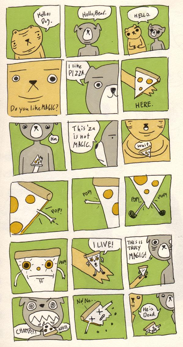 Magic Pizza by tedikuma