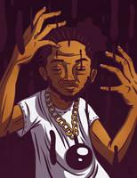 Kendrick Lamar by tedikuma