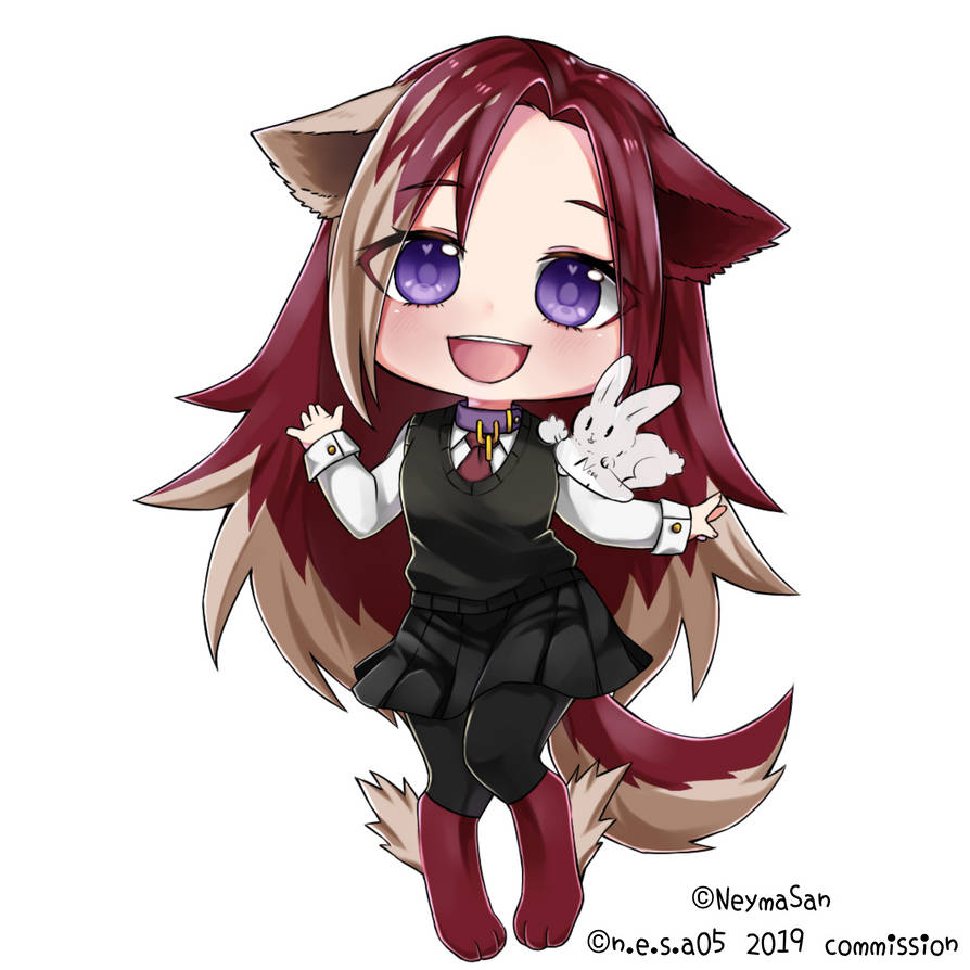 Chibi Commission for foxdomes