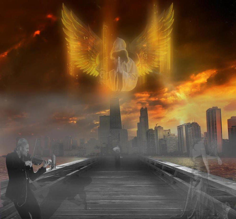 City Of Angels by Black-Pridator