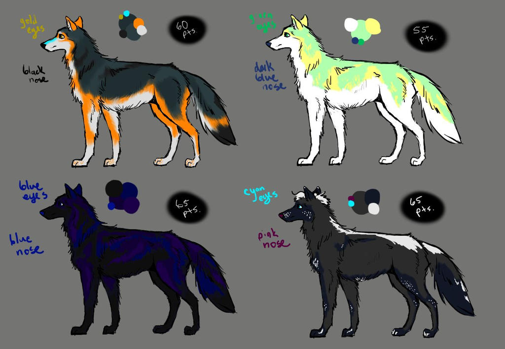 Wolf Adopts Round 2 OPEN by Starquilled
