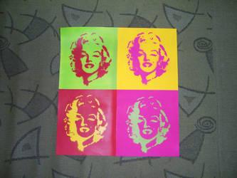 Marilyn Monroe by JMJ737