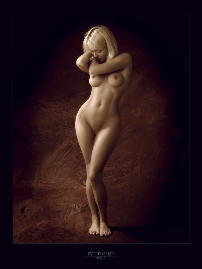Фото арт ню красивая девушка