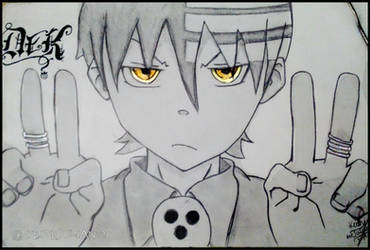 Soul Eater ~Death the Kid~ by Keith-arts02
