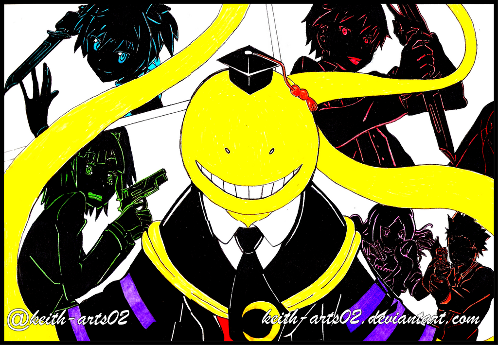 Inktober Week 2 ~Assassination Classroom by Keith-arts02