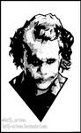 Joker ~ Heath Ledger ~ Doodle