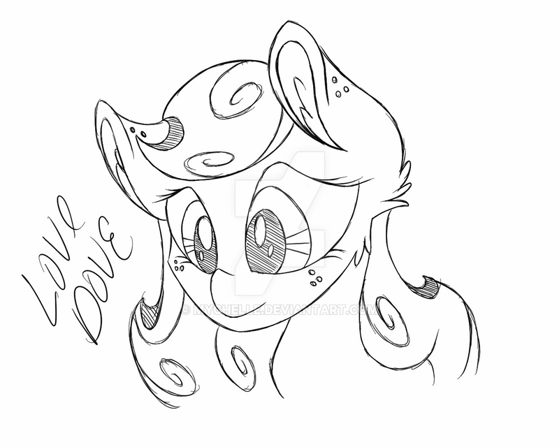 Your ears are full of chaos - MLP base by ... |Mlp Ears Drawings