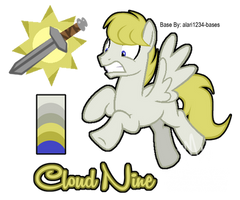 MLP: OC: Cloud Nine Reference by Mychelle
