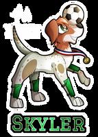 Canine: Skyler Doggy by Mychelle