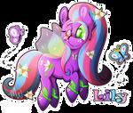 MLP: Flutterpony: Lily
