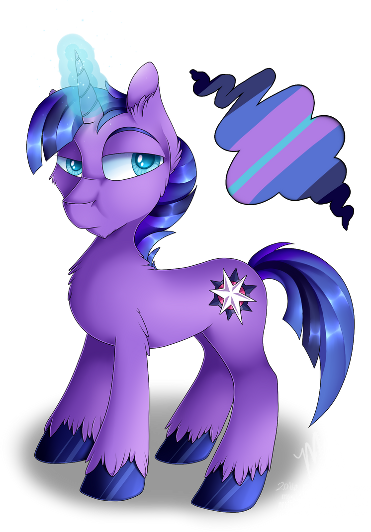 MLP: OC: Prince Mourning Star by Mychelle