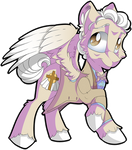 Good Omens / MLP Crossover - Aziraphale by Mychelle