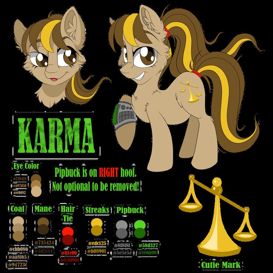 Karma Reference Sheet: 2019