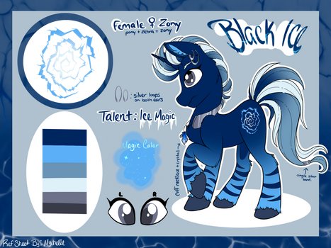 Reference Sheet: Black Ice