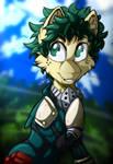 MLP Crossover: My Hero Academia: Izuku Midoriya by Mychelle