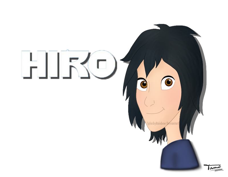 BH6 Hiro Hamada by SplashyRainbow