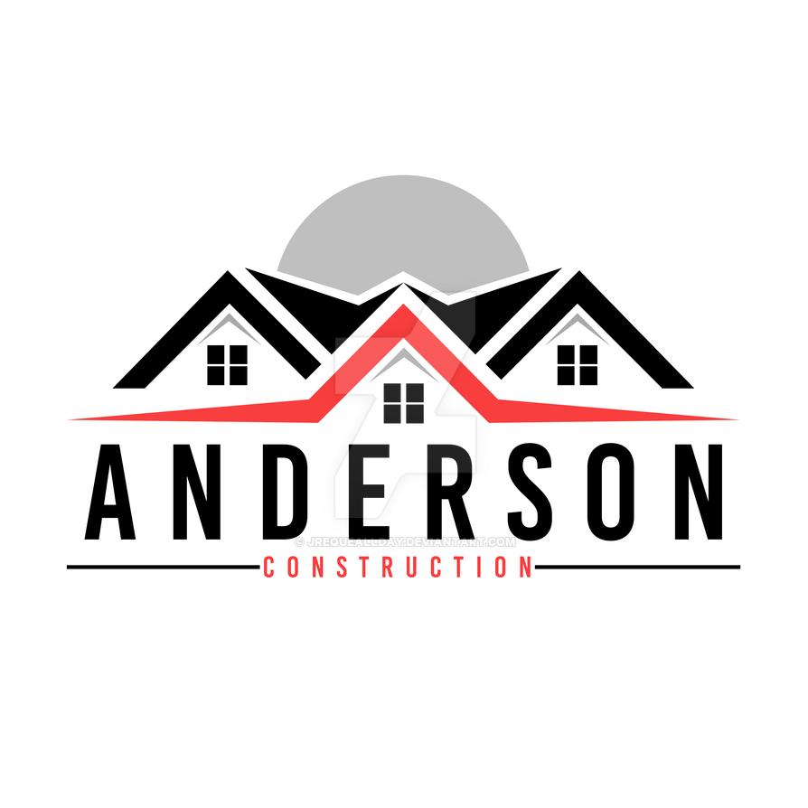 logo design for construction company in atlanta by