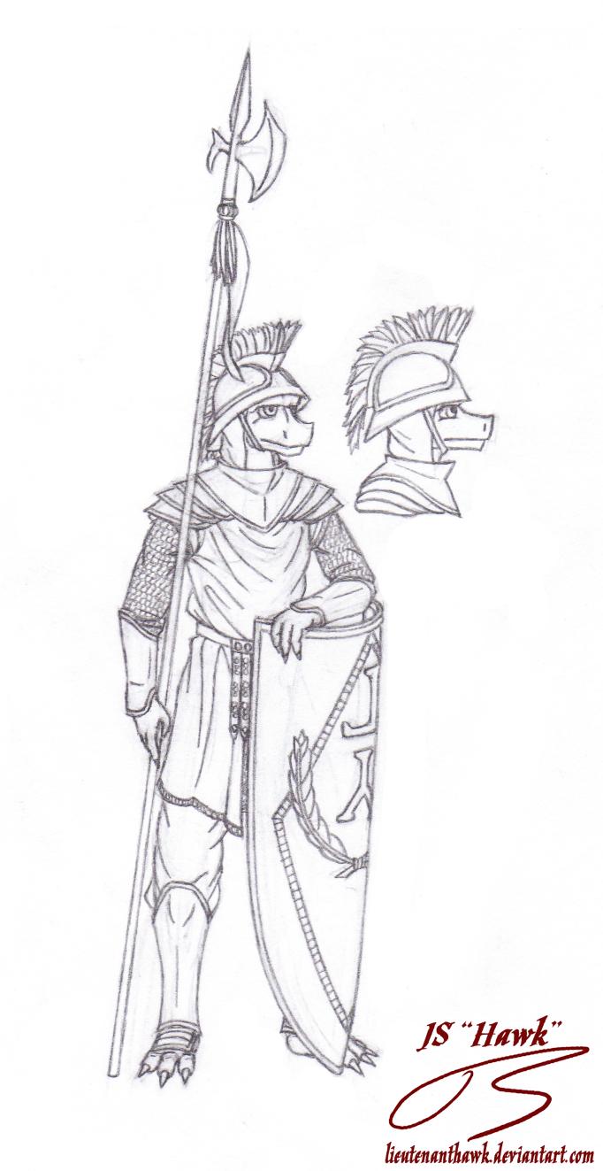 Iddeck Legionary by LieutenantHawk