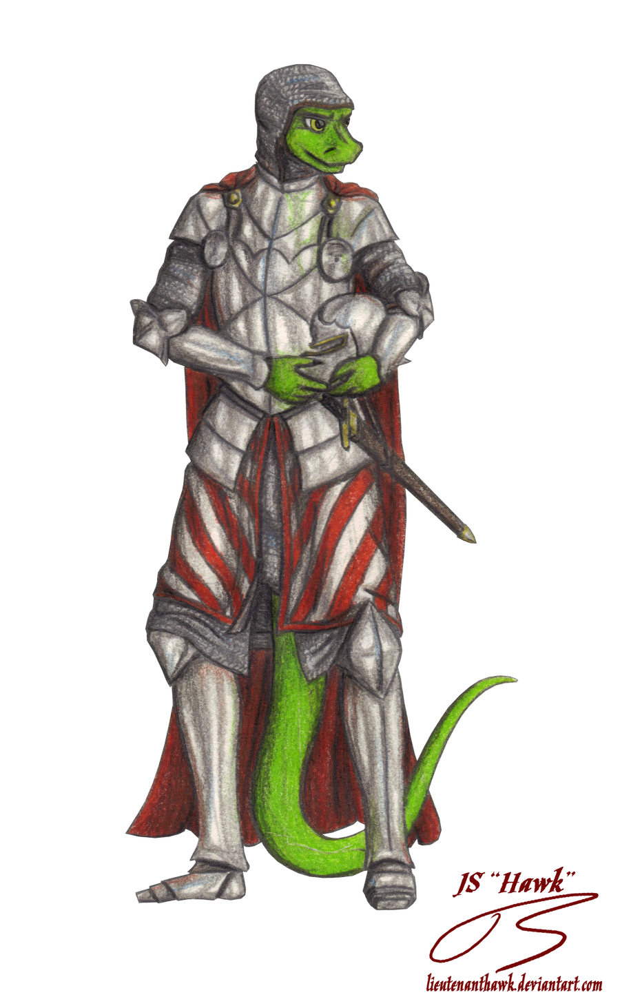 Knight-Commander Mordecius by LieutenantHawk