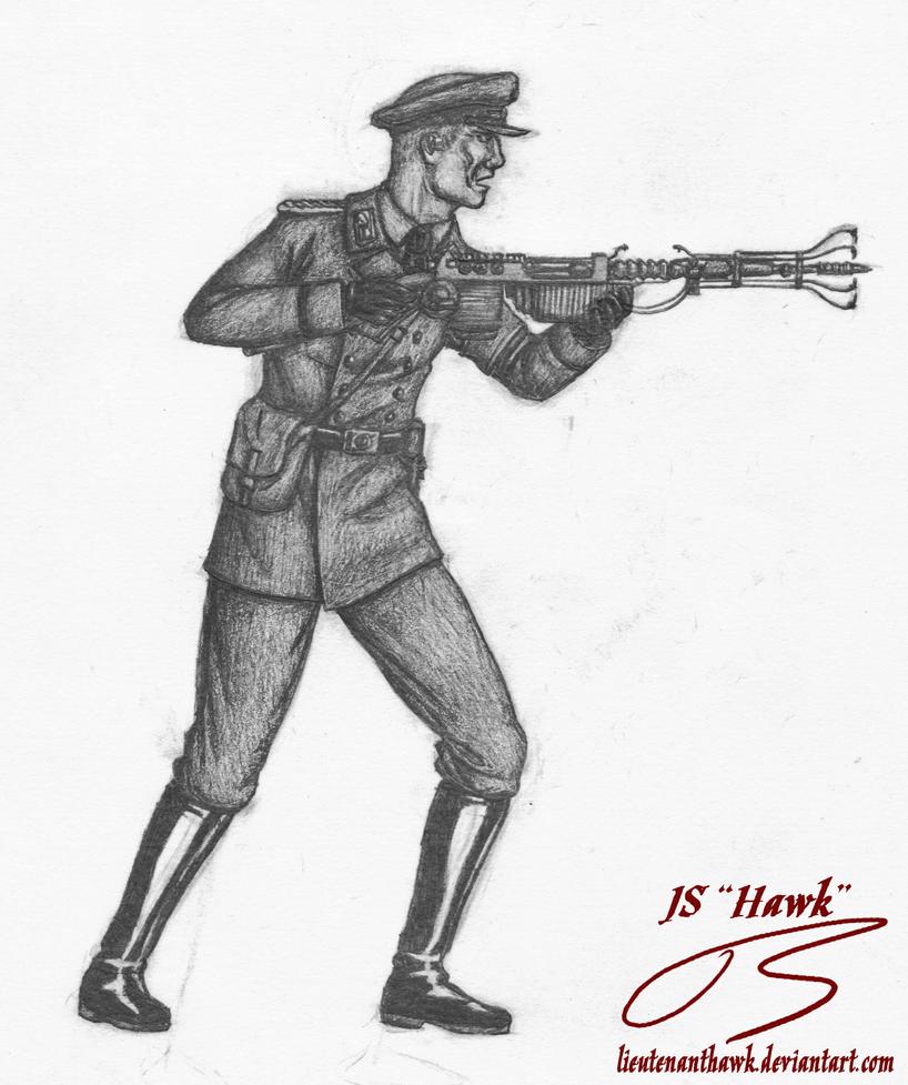 Dr. Edward Richtofen by LieutenantHawk