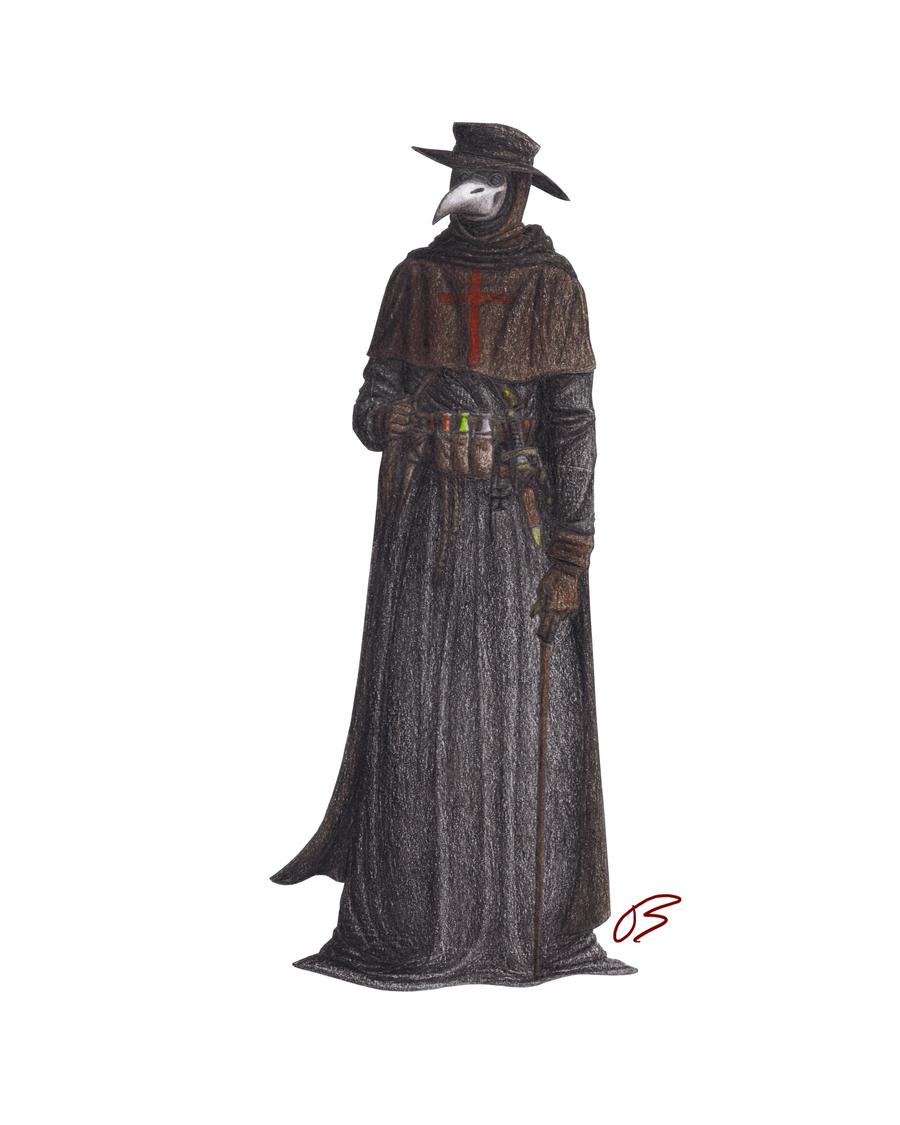 Plague Doctor - Print 1 by LieutenantHawk