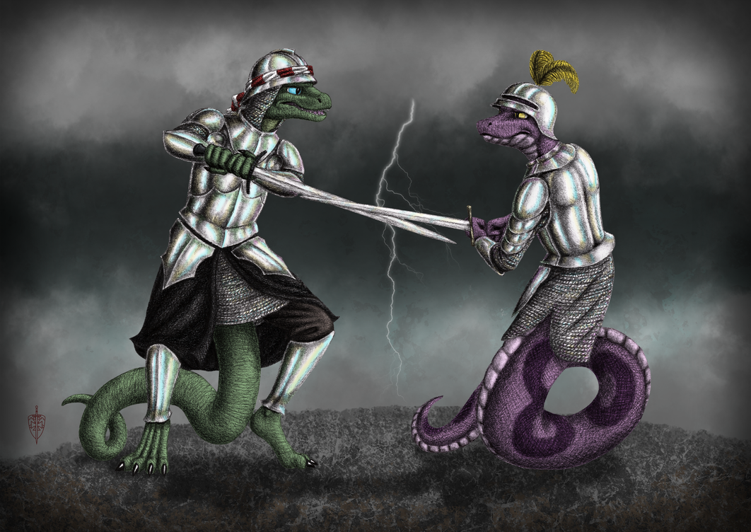Duel of the Scales by LieutenantHawk