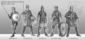 Medieval Armor Reference Project - 400 to 800