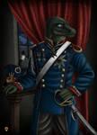 Baron Reinhardt Portrait by LieutenantHawk