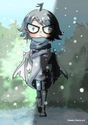 Nimue im Winter