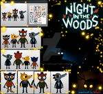 Night in the woods papercraft