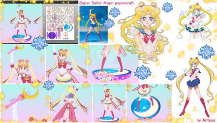 Super Sailor Moon papercraft