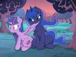 Luna Preening Twilight 2