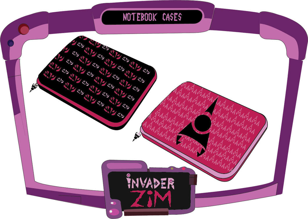 Noteboook Cases - Zim by vellutodesign