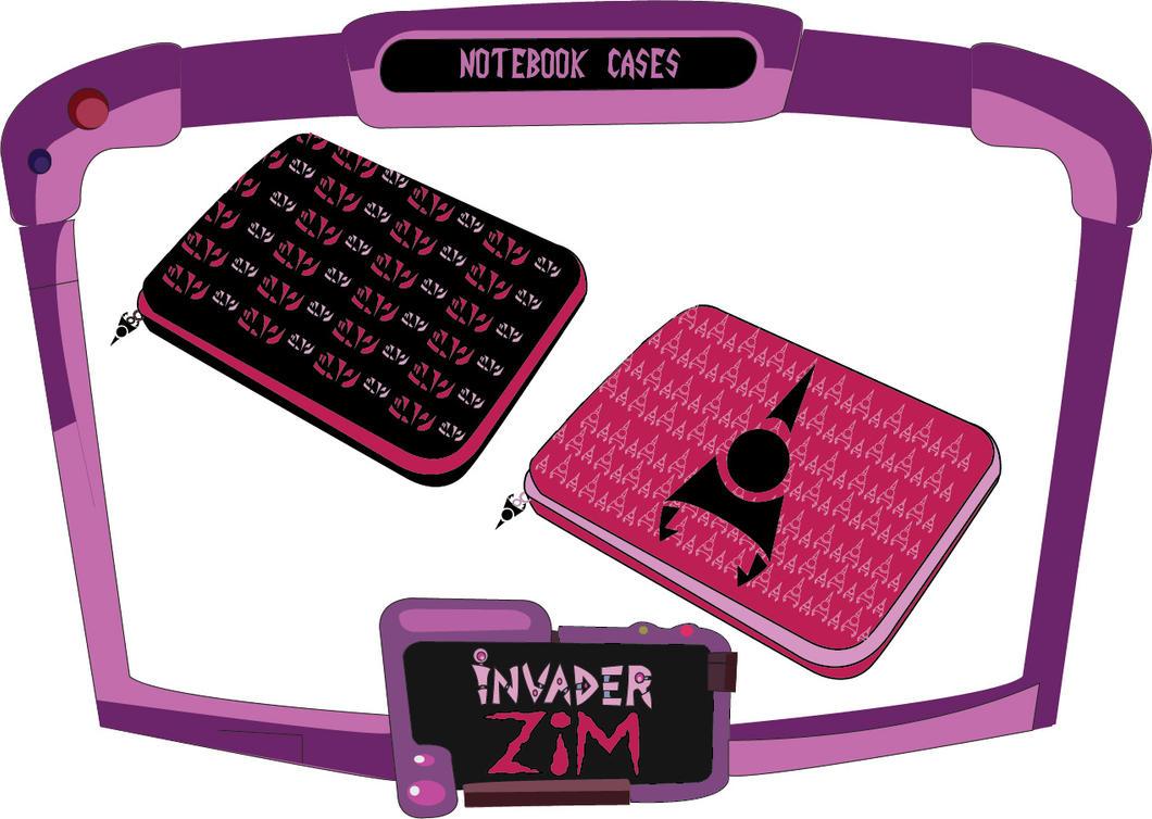 Noteboook Cases - Zim by vellutodesign