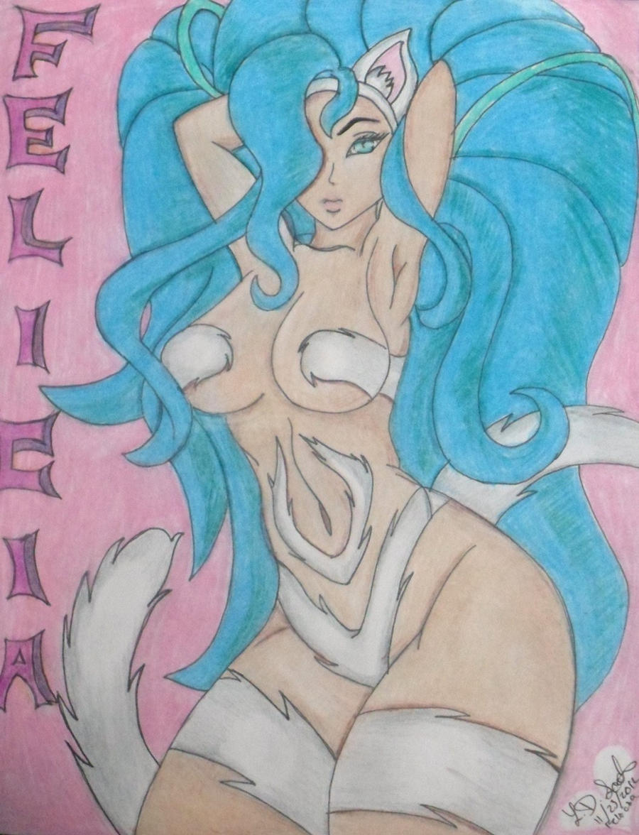 Felicia in Color by LinDevSco