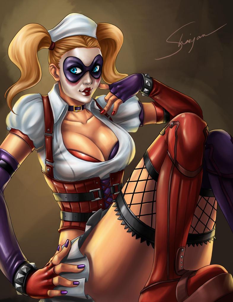 Harley Quinn by Shaiyan on DeviantArt