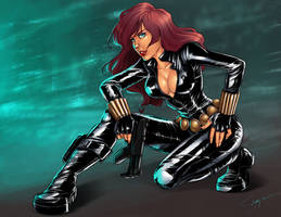 black widow by Shaiyan
