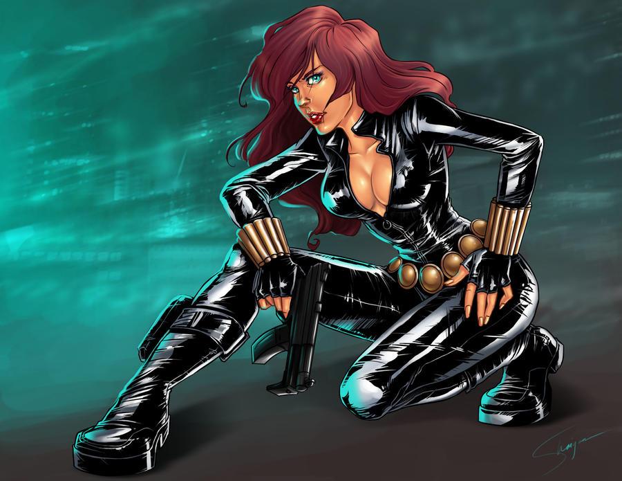 black widow by Shaiyan