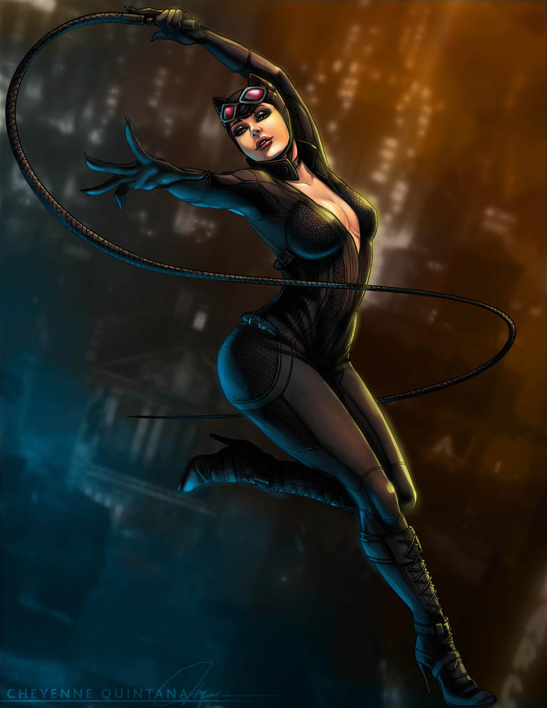 Catwoman by Shaiyan